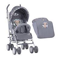 Детская коляска трость IDA GREY CUTE KITTEN, Lorelli