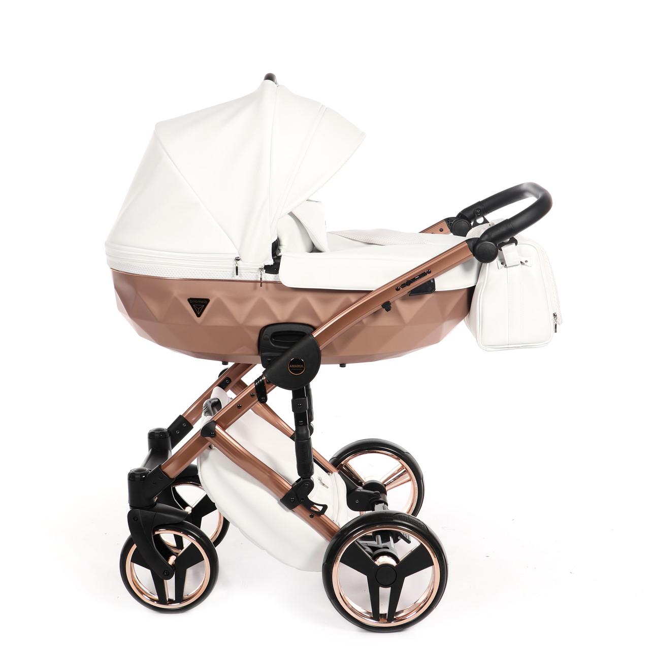 Детская универсальная коляска 2 в 1 Junama Mirror Satin 05