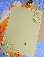 Бумага для пастели кремовая, Tiziano A4 (21*29,7см), №04 sahara,160г/м2, среднее зерно, Fabriano