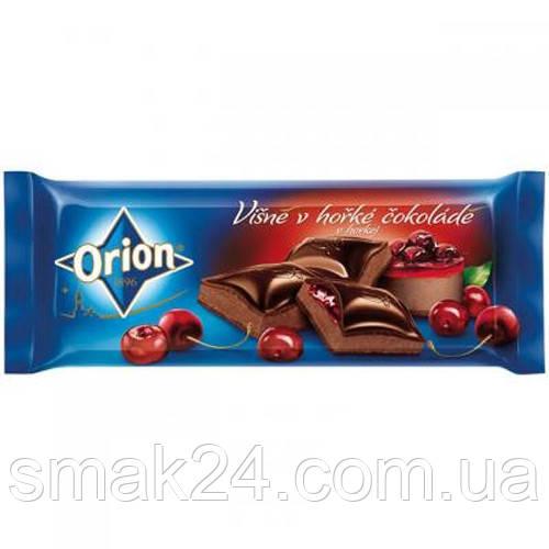Шоколад черный с вишней Visne Orion Nestle Чехия 240г