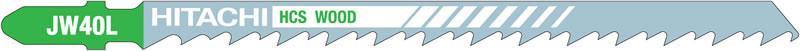 Пилочка для лобзика по дереву HiKOKI JW40L (750028) 5 шт.