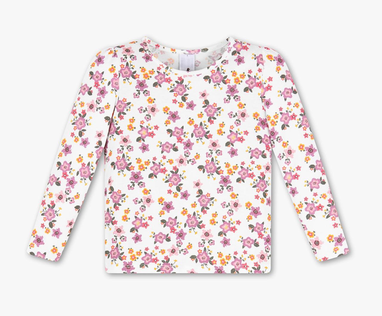 Реглан для девочки с принтом цветов C&A Германия Размер 104