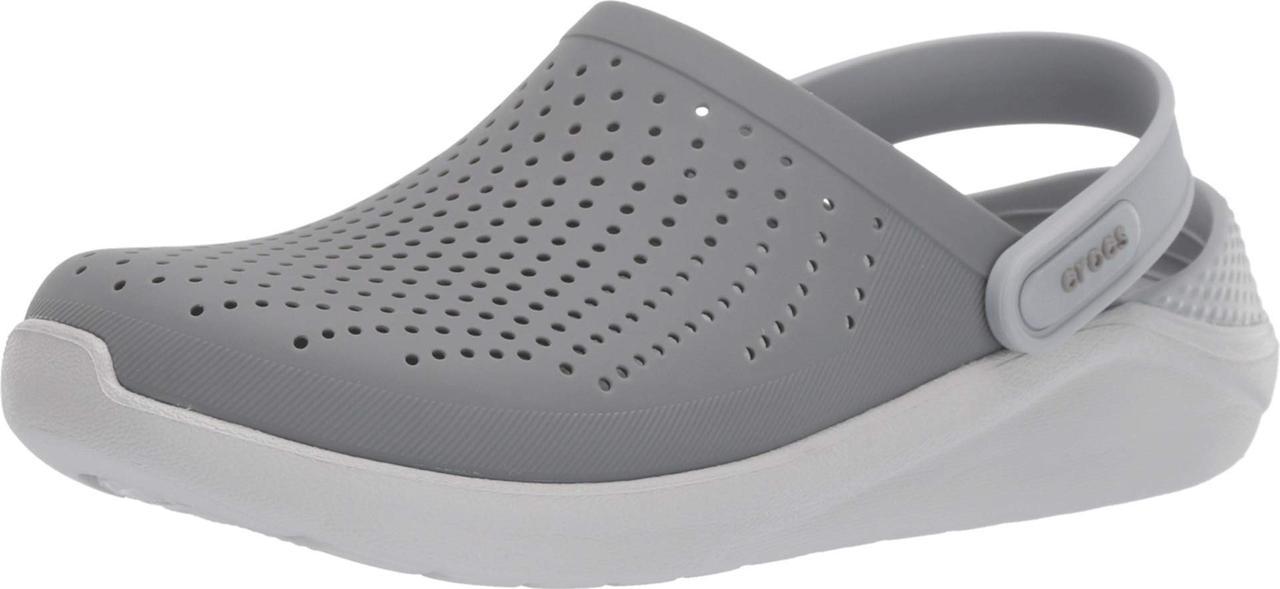 10d0f39e28a0 Сабо (Оригинал) Crocs LiteRide Clog Smoke Pearl White  продажа