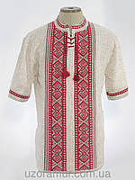 Джемпер лляний з українським орнаментом