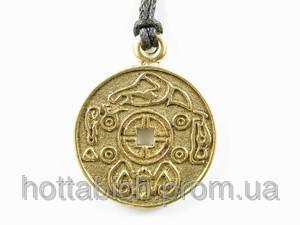 Магический амулет Корейская монета счастья
