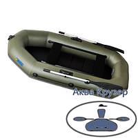 Надувные лодки пвх Omega Ω 245 LS(PS) (гребная лодка с реечной сланью и регулируемыми сиденьями), фото 1