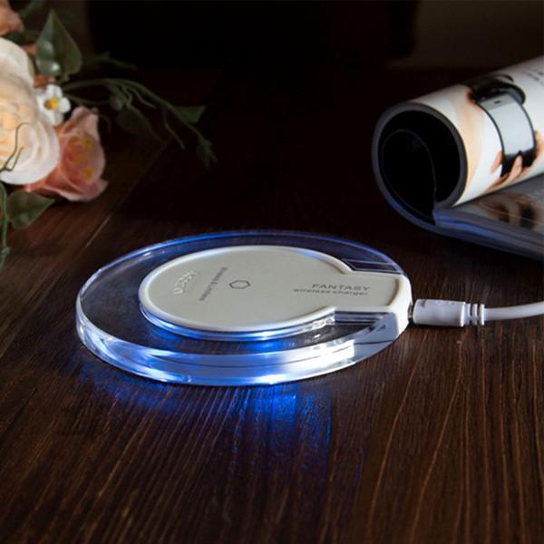 Беспроводная зарядка для телефона Qi Wireless Charger Fantasy  для Iphone/Samsung и др., фото 1