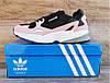 Детские, подростковые кроссовки Adidas Falcon Black/Pink. Последняя пара 38 - стелька 24.5 на стопу 24-24.5см, фото 2