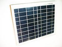 Солнечная панель 12V-10W, Солнечная батарея, банк энергии, мини электростанция, продажа в Харькове, в Украине, фото 1