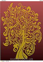 Схема для вишивки бісером Дерево достатку