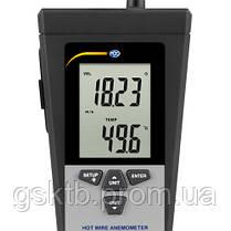 Анемометр тепловой профессиональный РСЕ-423 (Германия), фото 3