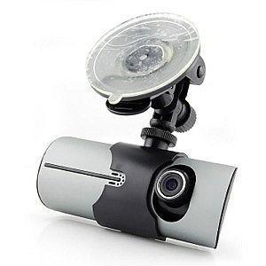 Car DVR R300 Видеорегистратор на две камеры GPS