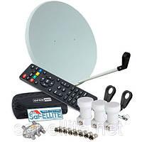 Популярный - спутниковый HD комплект для самостоятельной установки, фото 1