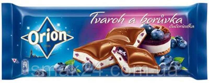 Шоколад молочный с черничным чизкейком Boruvka Opion Nestle Чехия 240г