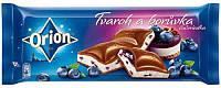 Шоколад молочный с черничным чизкейком Boruvka Opion Nestle Чехия 240г , фото 1