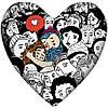 Подушка-серце, 2 розміри+3D - Щастя, коли разом