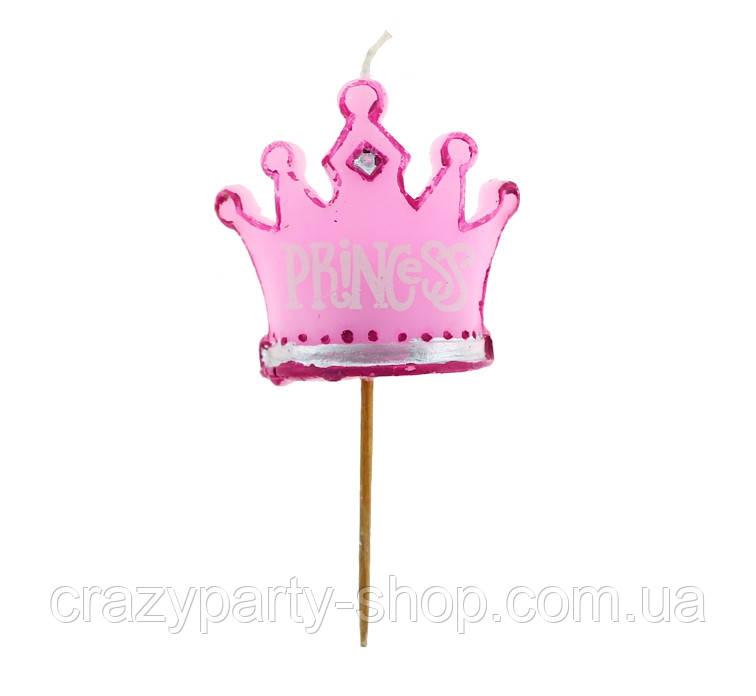 Свеча Корона принцессы