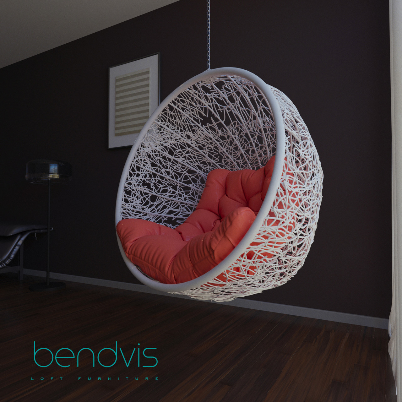 Круглые плетеные кресла Смайл