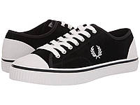 5433dfc6 Кроссовки/Кеды (Оригинал) Fred Perry Hughes Low Suede Black/Snow White