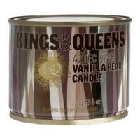 Kings&Queens Свеча Король Ацтеков Ванильная груша 170гр 5206043000471