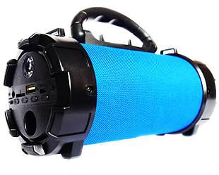 MEGA BASS Bazuka F18 Bluetooth Колонка с USB, MicroSD Синяя