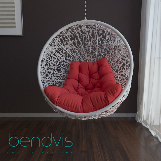 Подвесное кресло в комнату