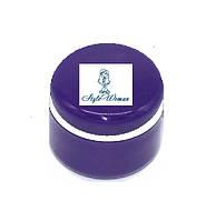 Баночка для геля пустая фиолетовая с крышкой 5мл