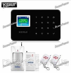 Охранная GSM сигнализация KERUI. Сигнализация для дома. KERUI G 19