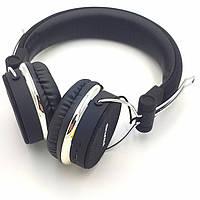 Беспроводные наушники с микрофоном Bluetooth гарнитура AWEI A700BL черные