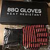 Термостойкие Защитные Силиконовые Нескользящие Перчатки для Барбекю Гриля BBQ Gloves, фото 6