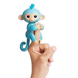 Интерактивная обезьянка Fingerlings Амелия бирюз глиттер. Fingerlings Glitter Monkey - Amelia (3760/3761), 5+