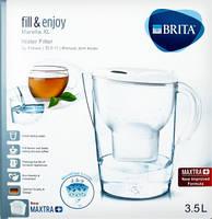 Фильтр-кувшин  Brita Marella XL (Брита Марелла XL), белый 3,5л с 1 картриджем Брита Макстра +