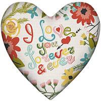 Подушка-серце, 2 розміри+3D - Love you (06), фото 1