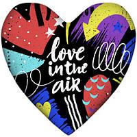 Подушка-серце, 2 розміри+3D - Love in the air, фото 1