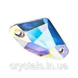 Fantasy пришивные хрустальные Preciosa (Чехия) 12 мм Crystal АВ
