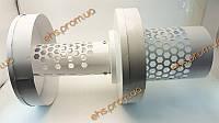 Защита дымовой трубы, металлическая, вертикальная