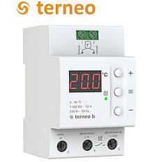 Терморегулятор для теплого пола Terneo b 32А (на DIN-рейку), Украина