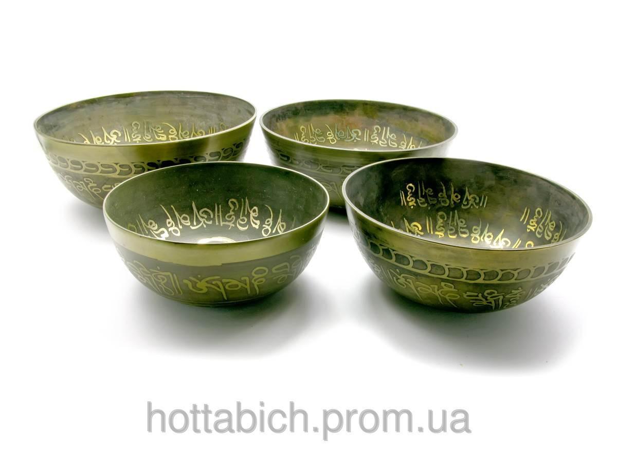 Чаши поющие (н-р 4 шт.)(Singing Bowl SUPER FINE set of 4ps)