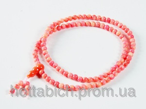 Четки из камня розовый коралл