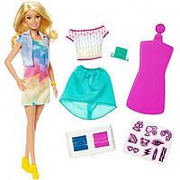 Barbie Барби дизайнер модельер цветной штамп Crayola Color Stamp Fashion Doll Set