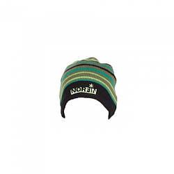 Шапка вязана зимова Norfin Зеленого кольору