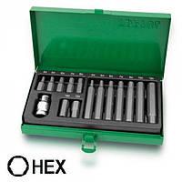 Набор бит, Hex, H4, H5, H6, H7, H8, H10, H12, Toptul GAAD1508
