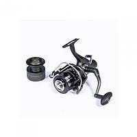 Катушка безинерционная для удилища Salmo DIAMOND CARP 5 50BR / Катушка для рыбалки черного цвета