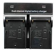 Зарядное устройство для 2-х акумуляторов серии Panasonic серии VW-VBN, CGA-D, VW-VBD..
