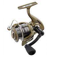 Катушка безинерционная для удилища Salmo Sniper Spin 4 6730FD / Катушка для рыбалки зеленого цвета