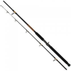 Удилище троллинговое Salmo Power Stick Trolling Cast 50-100g/2.40m для рыбалки черного цвета