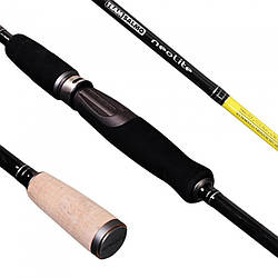 Удилище спиннинговое Team Salmo Neolite 7-32g/2.65m для рыбалки черного цвета