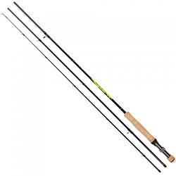 Удилище Salmo Diamond Fly кл.6-7/2.85m для рыбалки черно-желтого цвета