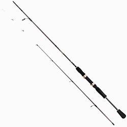 Вудлище спиннинговое Salmo Elite MicroJig 2-10g/2.13 m для риболовлі чорного кольору