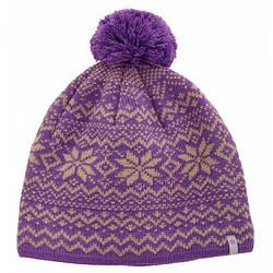Шапка зимова акрилова Norfin Women Finland Violet фіолетового кольору
